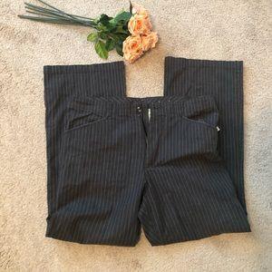 Women's Dress Pants Pin Stripe SZ 14 Plus SIZE